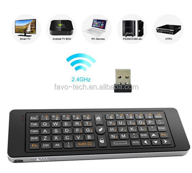 Hot i13 2.4G Mini Ultra mini Keyboard with IR Remote
