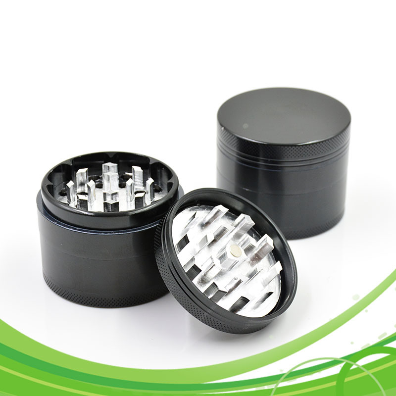 Herb Grinders Smoking for Weed 56mm Metal Tobacco Grinder 4 Layers Aluminum Alloy Material