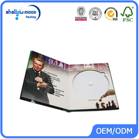 supply professional hardboard cd dvd box & box sets manufacture and packing service