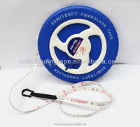 Fiber glass tape ABS case without button custom tape measure