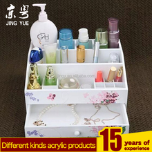Clear cosmetic display PMMA drawer organizer divider plexiglass drawer storage box acrylic drawer organizer