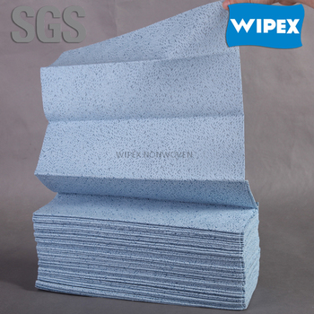 Interfold cleanroom nonwoven wipers for industrial cleaning China