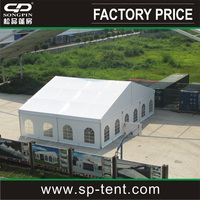 Decorated canopy marquee 15x20m for outdoor party wedding ceremony event made in china