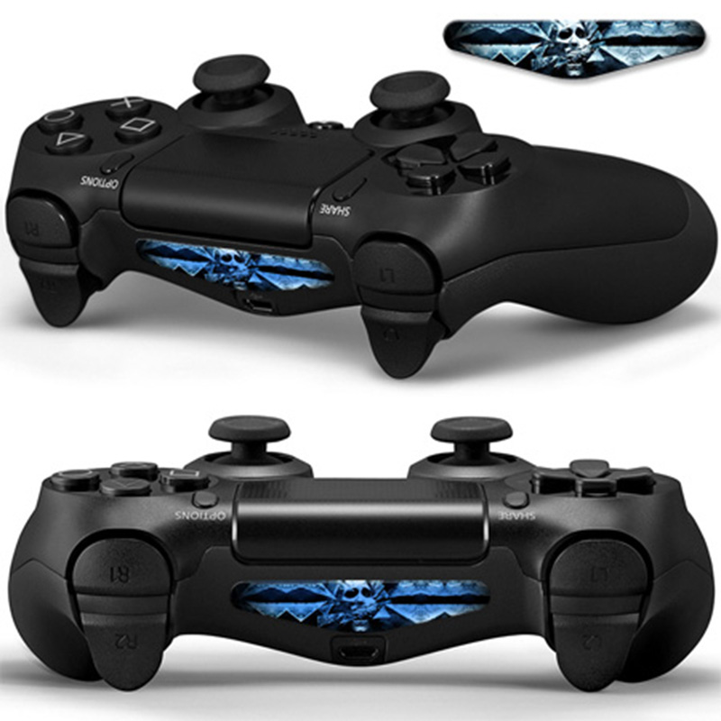 Fashion Design Adhesive Body Skin Safe Sticker Temporary for PS4 LED Light Bar