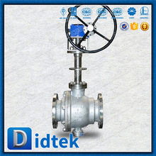 Didtek Bolted Bonnet 6 inch 150 LB Long Stem Trunnion Ball Valve With Soft Ring
