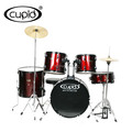 Cupid brand 5pcs black PVC drum set