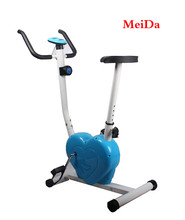 Exercise Bike Fintess Cycling Machine Cardio Aerobic Equipment Workout Gym Blue