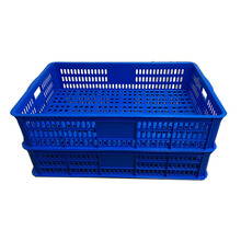 Mesh wall plastic fish crate for seafood