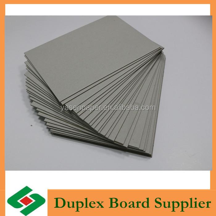 Paper pulp make laminated grey card board buy