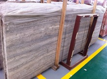 Wholesale iranian silver wave travertine slabs