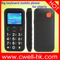 China old man senior elderly bluetooth 3.0 big button torch light Dual sim mobile phone
