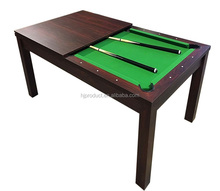 Popular design 7FT home use billiard pool dining table with accessory kit