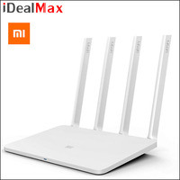 Original Xiaomi Wifi Router 3 ROM 128MB 2.4G/5GHz 1167Mbps WiFi Repeater Dual Band English Version APP Control Wireless Routers