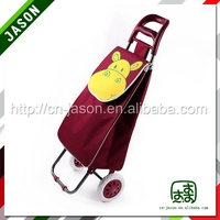 polyester trolley luggage
