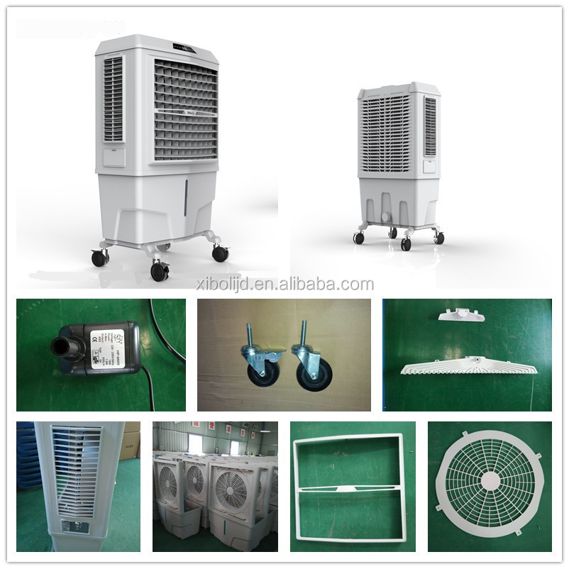 220V 50Hz Swamp/desert air coolers noiseless mobile home air conditioner