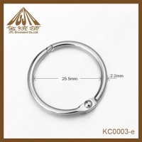 25 5mm Nickle Finished Binder Ring