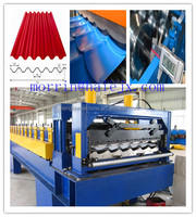 Hot sale! roofing panel cold roll foming machine/ steel roof panel forming amchine