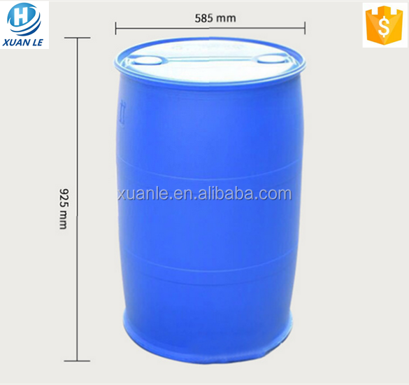 Widely used 200 liters plastic drum for veterinary use