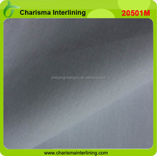 Color 100% cotton high grade interlinining man suit interfacing