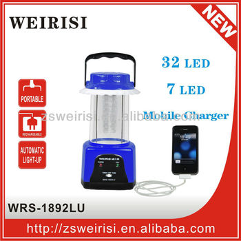 Rechargeable LED Multifunction Camping Lantern (WRS-1892LU)