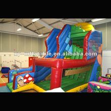 New Design Inflatable 12' Plat. Mega Multi Play