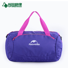 Customized travelling bag duffel sports bag with shoes compartment