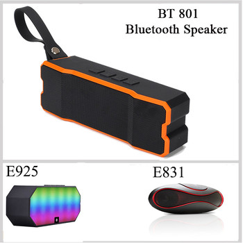 Outdoor Mini Portable Wireless Stereo Super Bass Bluetooth Speaker BT 801 Hand Free Calling
