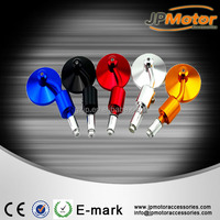 Colorfule Universal Round Motorcycle Handle Bar End Rearview Side Mirrors