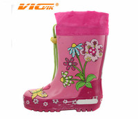 baby kids girls flower rain boots beautiful gumboots cute wellington wellies shoes