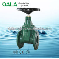 BS NRS resilient seat ductile iron a105 flanged gate valve dimensions,gate valve extension
