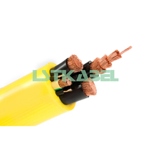 PUR Jacket PVC Insulation 95mm Mine Power Cable