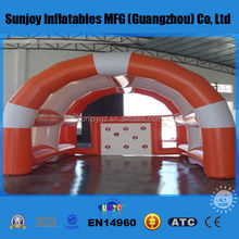 New style PVC Inflatable Football Door or Football Goal with CE, UL