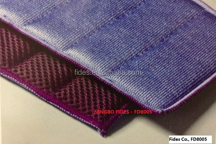 micro fibre polyester kitchen mesh scouring pad