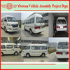 made in 2015 new petrol/gas 15 seats chinese mini van for Africa Nigeria
