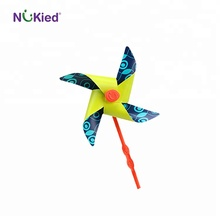 Nukied kids classic hot sale small decorative <strong>windmills</strong> toys
