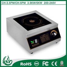 Table top electric ceramic stove hob for kitchen equipment