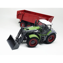 REVELL OEM orders 1:28 8channels plastic RC multifunctional farm tractor trucks