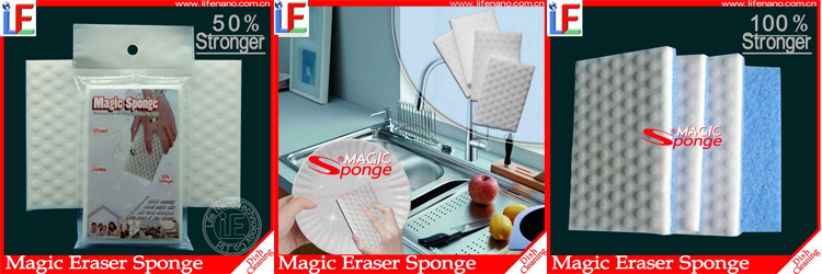 Kitchen Set Cleaning Magic Melamine Foam Sponge For Dish Washing