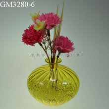 High Fashion Colorful Glass Flower Vase