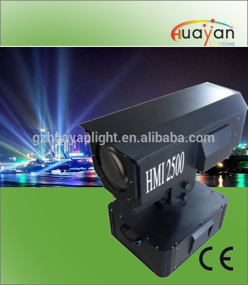 Professional Stage Lighting HMI 2500W Outdoor Light Sky Rose Led Search Light