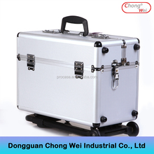 aluminum pilot trolley case with wheels