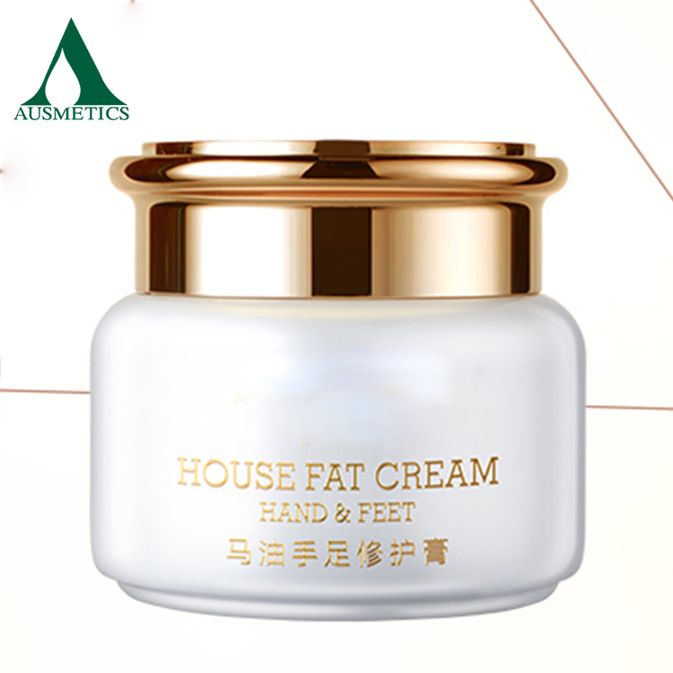 Hot sale popular whitening face lotion anti freckle facial pure horse oil cream