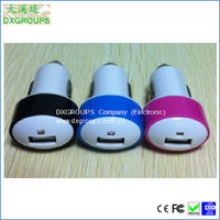 5V 2A promotional usb car charger for Cell Phones Metal Head Mushroom USB Car Adapter