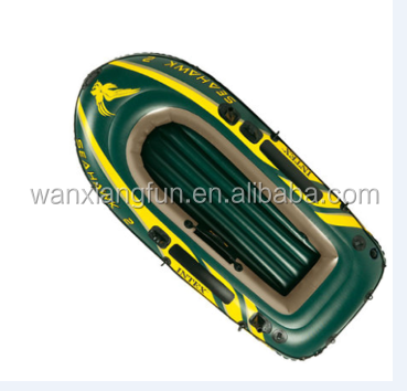 2016 shanghai new design China popular pvc inflatable adult floating boat