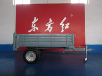 europe style 2 ton two wheels tractor trailer with CE&ISO