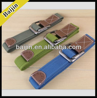 canvas belt with zinc alloy buckle
