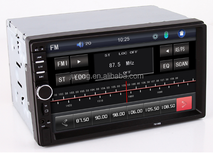 2 din android universal car dvd player car stereo 7018B