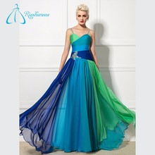 Chiffon Crystal Beading Cheap Plus Size Prom Dress Shops