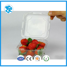 custom-made wholesale large clear plastic container, clear plastic strawberry container