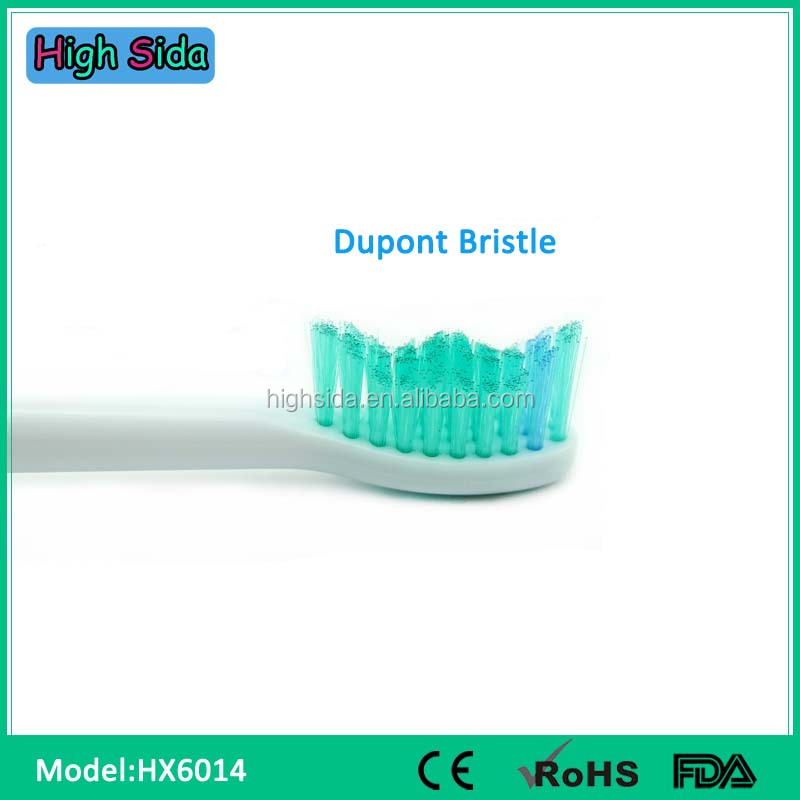 For Philips Proresults HX6014 4pcs Sonic Replacement Brush Heads